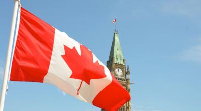Canadian flat, parliament building
