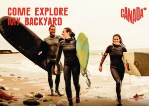 Destination Canada Tourism Week 2021 postcard campaign