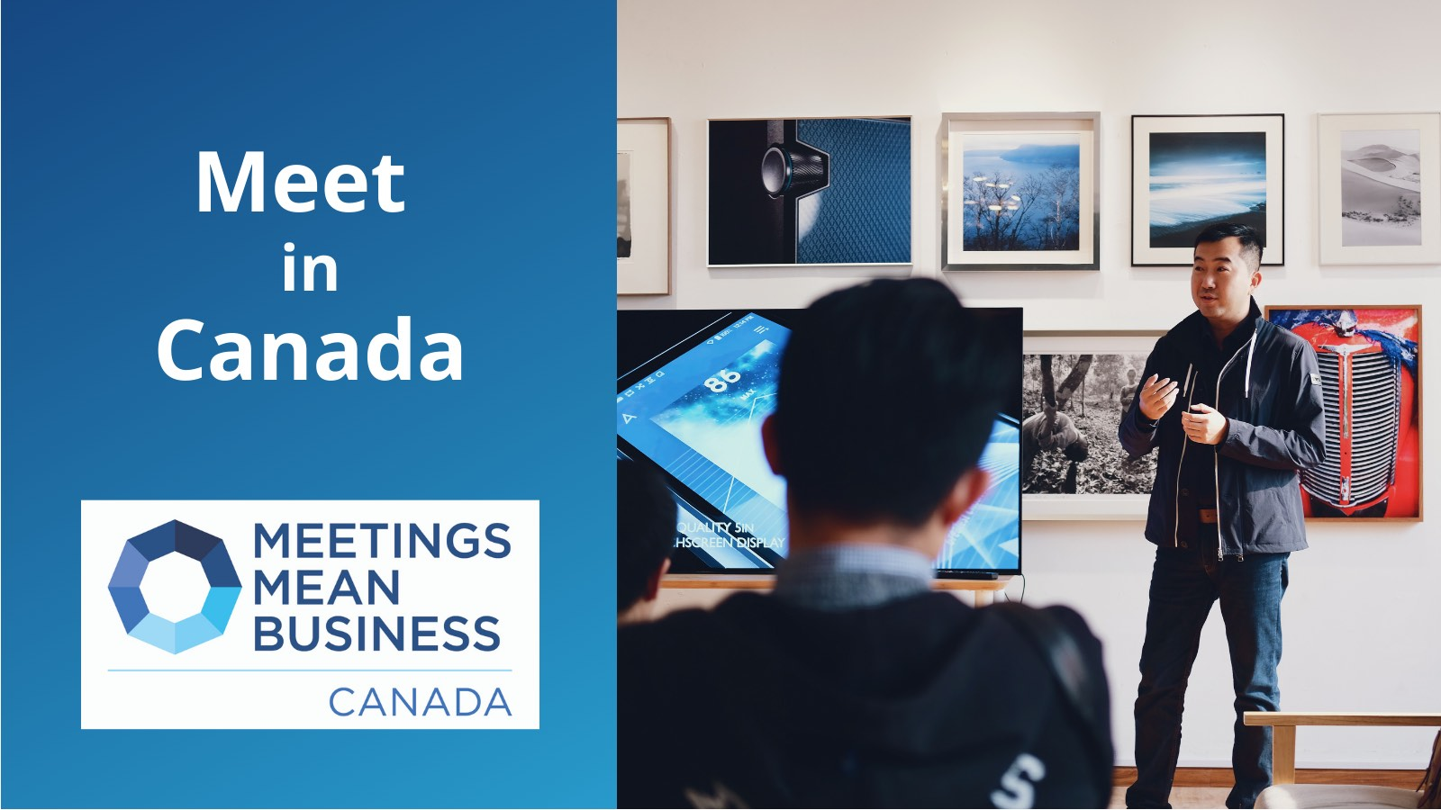 Meet in Canada, Business people meeting